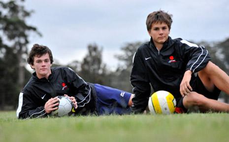 Matt Hughes and Ryan Coles are following their dreams.