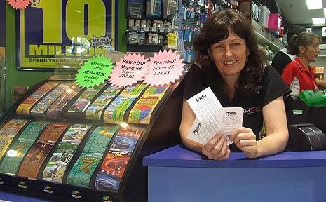 Annie Davey from the Ballina Fair Newsagency.