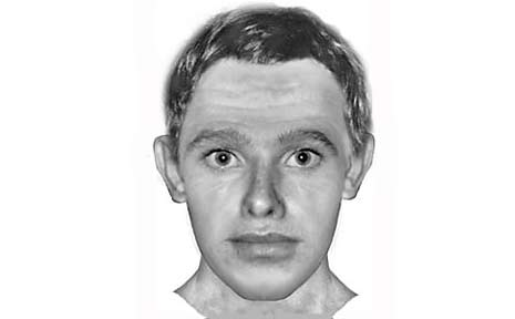 A com-fit image of the predator who attacked a woman last month.