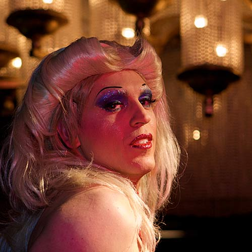 Michael Falzone stars in Hedwig and the Angry Inch.