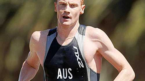David Dellow says he is better condition than he was last year leading into the Noosa Triathlon.