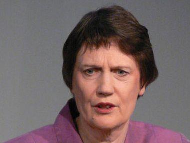New Zealand Prime Minister Helen Clark.