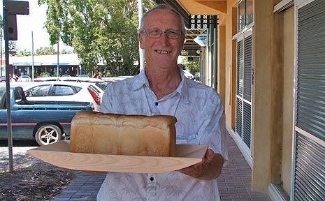 Ian Leggo – one of the Byron Beggars' Banquet volunteers.