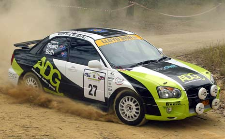 Mark Beard's Subaru RS Impreza.