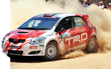 The Coffs Coast Rally provided plenty of great action.