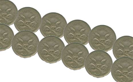 Could we see the end of the 5 cent piece?