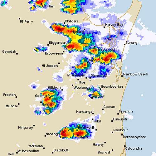 Weather bureau radar from November 20.