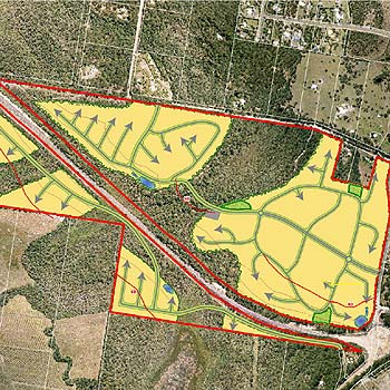 Jim Barns's 157ha proposed development at Weyba Downs near Peregian Springs has been refused by the state government.