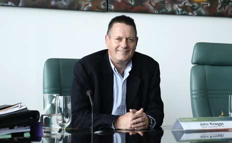 Sunshine Coast Regional Council CEO John Knaggs.