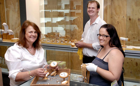 The team at Cunningham Jewellers.
