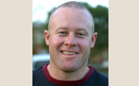 Damian Bryant, inaugural Evans Head coach.