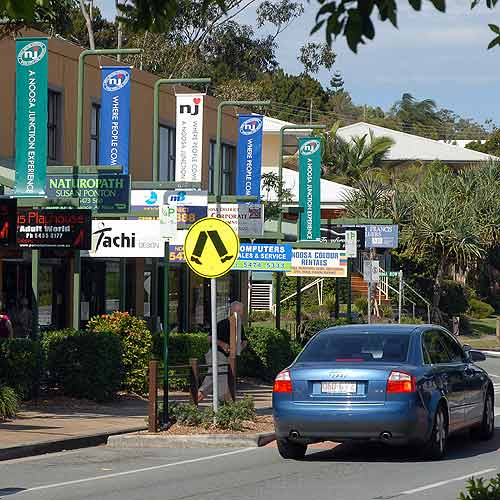 Noosa Junction.
