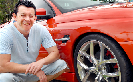 BRIAN Armstrong is among a growing number of young men selling their high-performance cars in the Daily Mercury Classifieds as they prace for any impacts of the global financial crisis.