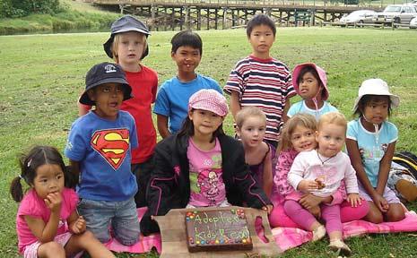 Bellingen celebrated National Adoption Awareness Week.