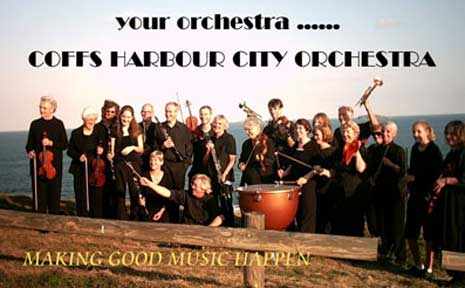 Image from the Coffs Harbour City Orchestra website.