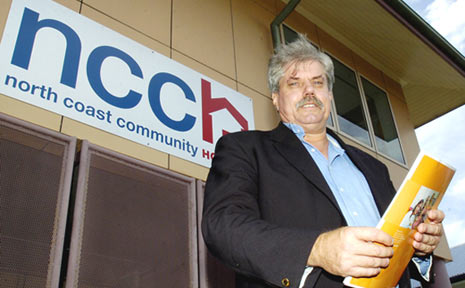 Mark Dansie, executive officer of the North Coast Community Housing Company.