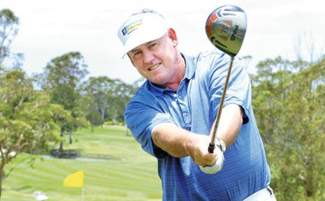 Winner of the 2007 Australian Seniors PGA Championship, David Merriman, from Sydney.