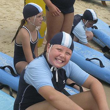 Under-11 Peregian nipper Masyn Dwyer.