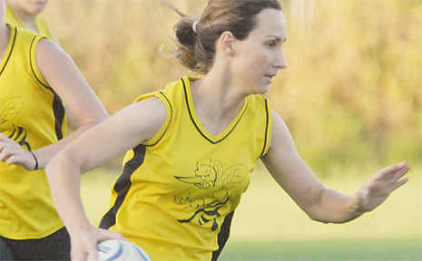 HORNET'S player Tracey Beardsell was judged player of the touch final against Mirani.