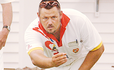 ANDREW Paskins, winning the champion of champions title in Mackay, is back in the state side for the national lawn bowls championship.