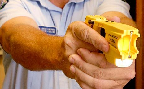 Should women be given a taser gun to protect themselves?