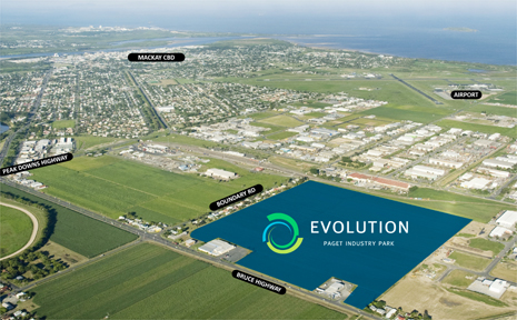 The 32-hectare Evolution Paget Industry Park has lots up to 50,000sq m on offer with subdivision expected to be finished by mid 2009.