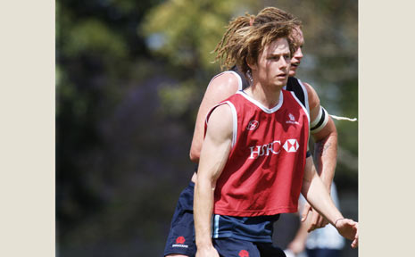 Lennox Head rugby player Luke Schaefer is keen to apply what he learnt on tour towards next season with the Trojans.