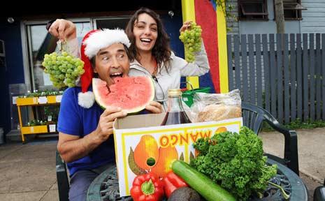 Alex Basch and Nadine Abood of Rainbow Wholefoods.