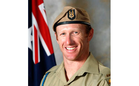 Trooper Mark Donaldson before he was awarded the VC.