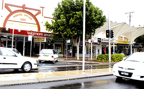 River Street Ballina is benefitting from upgrades to Wigmore Arcade, but an unlikely start on further work is upsetting businesses.