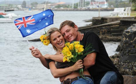 Two long established local familes will come together at last as Anthony Chilcott and Angeline Gibson marry on Australia Day.
