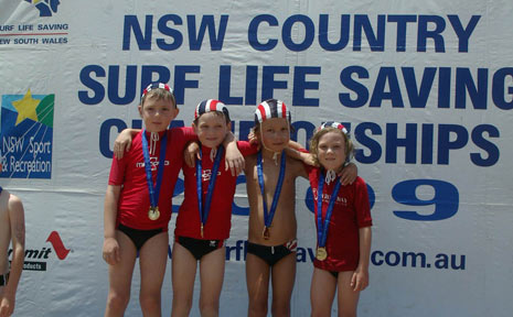 The Byron Bay Junior Surf Club achieved some outstanding results at the recent NSW Country Championships at Port Macquarie.
