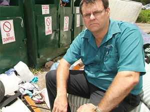 Charity bins used as dumping grounds