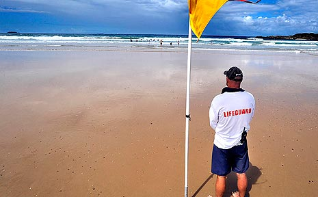 Following the move by Coffs Harbour City Council last month to make year-round Lifeguard patrols at Park Beach a permanent feature, that stretch of beach is now considered the safest place for beach-goers during the cooler time of the year.
