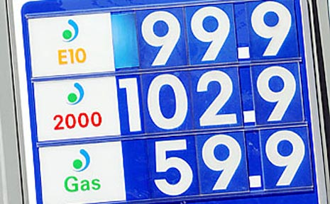 DRIVERS only had a short time to enjoy prices of around $1 a litre.