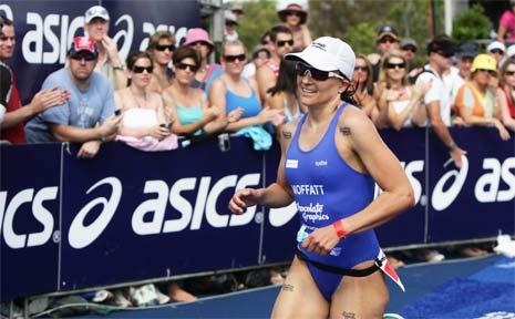 Triathlete Emma Moffatt
