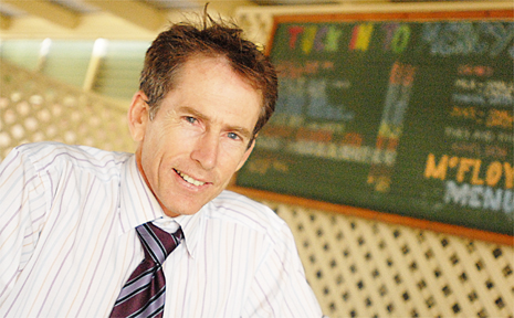 Mercy College Mackay principal Jim Ford is excited about the school's expansion.