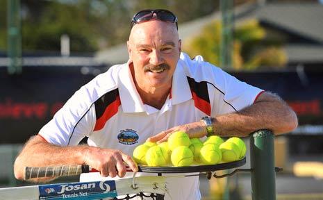 John Durbin has joined the coaching crew with Tiebreak Tennis at Brelsford Park.