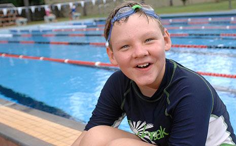 Shane McBurney from Wollongbar Primary School.