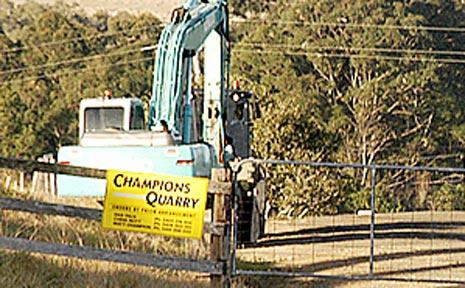 Champions Quarry.