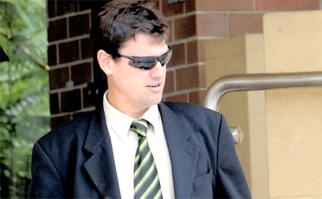Jason Hinds lost up to 10 per cent use of his right hand after being assaulted in the course of his police duties. The former police officer left the police service last year and now works in the mining industry.