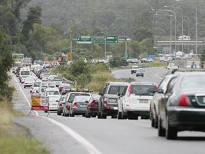 What not to do when caught in Bruce Hwy traffic jam