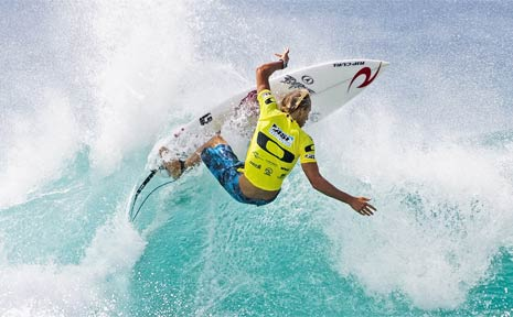 Current ASP Pro Junior series leader and Australian surfing ace, Owen Wright.