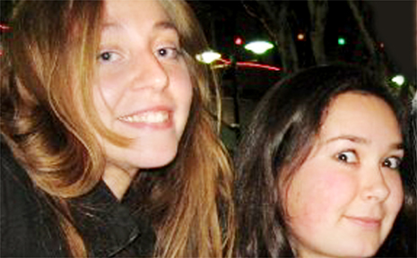 A dream holiday turned to tragedy when young Italian tourists were killed in a smash on the Bruce Highway, 155km south of Mackay, on Sunday afternoon. The only survivor was Carlotta Bettini, left, with friend Stefania Capussela, who died in the crash.