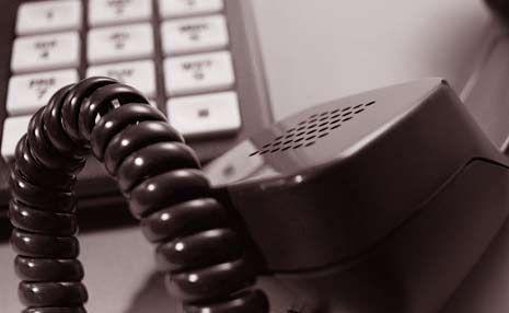 telephone problems?