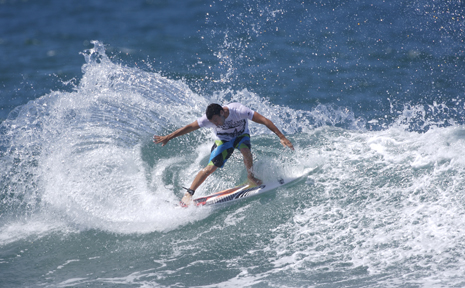 Joel Parkinson and a host of surfing legends turn up at Angourie to take on the famous break.