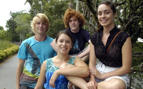 Youth Environment Society- Ahri Tallon, Sasha Hunt, Darcy Garlic-Kelly and Emily Alexander.