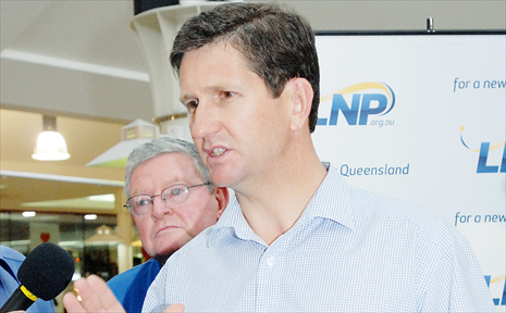 State Opposition leader Lawrence Springborg.