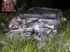 Rugby league Dale Shearer, inset, was in a serious condition following a crash on the Sunshine Coast.