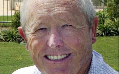 Former Tweed Shire councillor and deputy mayor, Bob Brinsmead.